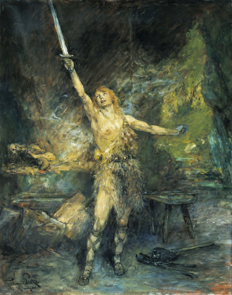 Image result for siegfried painting